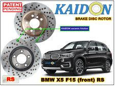 "BMW X5 F15 disc rotor KAIDON (front) type ""RS"" spec"
