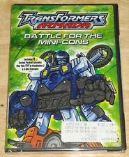 Transformers Armada : Battle for the Mini-cons DVD New animation