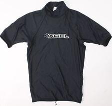 Xcel Youth Boys Adjustable UV Protection Rashgaurd Rashguards Black S New