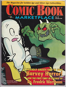 COMIC BOOK MARKETPLACE 29 (1995) Casper, Harvey horror C; Pre-Code Horror; VF/NM