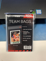 100 Ultra Pro Resealable Team Bags Sleeves 1 Pack #81130 AW11740
