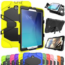 "Hybrid Shockproof Stand Gel Case For Samsung Tab 3 4 A E S2 7.0""8.0""9.6""9.7""10.1"