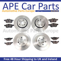 Citroen Berlingo 1.6 08-16 Front & Rear Brake Discs & Pads with ABS & Bearing
