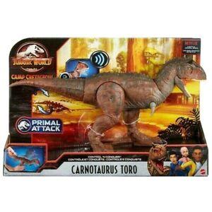 "Jurassic World CARNOTAURUS TORO Control 'N Conquer Figure Cretaceous Netflix 15"""