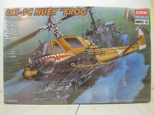 """Academy/Mrc 1/35 Uh-1C Huey """"Frog"""" Helicopter #2196 factory sealed"""