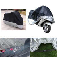 XXXL Motorcycle Motorbike Cover Outdoor Waterproof UV Rain Dust Block Protector