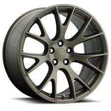 2x 20x10.5 Dodge SRT Hellcat Replica 5x115 +25 Bronze Wheels