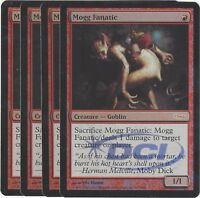 TCG 67 MtG Magic the Gathering Mogg Fanatic Gateway Promo Foil mint Playset (4)