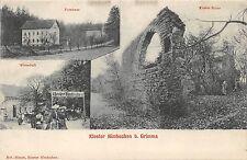 AK Kloster Nimbschen b. Grimma Forsthaus Wirtschaft Postkarte vor 1945