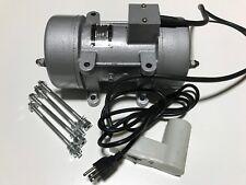 GlobMarble Concrete Vibrator Motor 110V for Shaker Table. 0.75 kW Power, 2840rpm