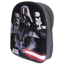 NEW OFFICIAL Star Wars Darth Vader Kids 3D Backpack Rucksack Nursery School Bag