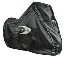 R&G Black Adventure Bike Outdoor Cover for Kawasaki KLR 650 2002-2018