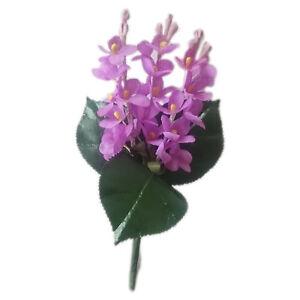 Fliedersträußchen, künstliche Blumen, Dekosträußchen helllila 10 cm