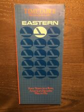 1983 Eastern Airlines Timetable airways.L-1011 727