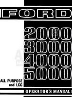 Ford 2000 3000 4000 5000 Tractor Owner Operator Manual