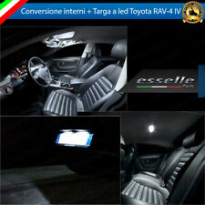 KIT FULL LED INTERNI TOYOTA RAV-4 MK4 IV CONVERSIONE COMPLETA + LUCI TARGA