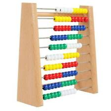 "6.5"" Abacus Wooden Toy 123-Learning Math Counting Beads Educational Counter Toy"