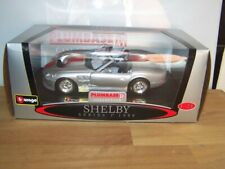 BURAGO 1/24 SCALE  SHELBY SERIES ONE 1999 .BOXED new