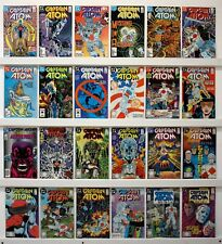Captain Atom   Lot of 28 comics   VFNM or better  See Issue #'s & photos below