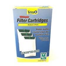 3 pack of Tetra Whisper Medium Aquarium Filter Cartridges