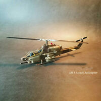New 1/72 US Air Force AH-1 Attack Helicopter Gunship Die Cast 3D Alloy Model