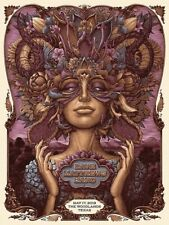 Dave Matthews Band Woodlands Tx Poster Nc Winters 5/17 2019 Texas #/800 Sold Out