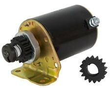 NEW STARTER MOTOR FITS BRIGGS STRATTON COOLED ENGINES 18HP WITH FREE GEAR 391423
