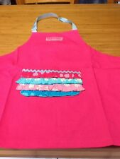 Girls Cute Pink Apron Suit 6/7 Year Old