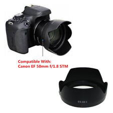 ES-68 II Bayonet Mount Flower Lens Hood Protect For Canon EF 50mm f/1.8 STM Lens