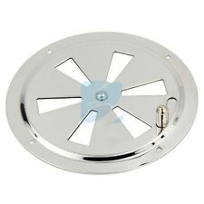 Stainless Steel Marine Air Vent Butterfly Boat Round Louvered Vent 125mm