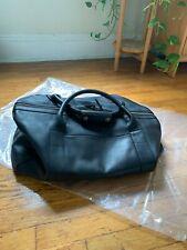 Tecovas LARGE Classic Black Leather Duffle Weekender Travel Bag NIB