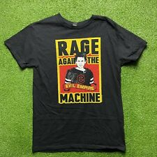 Mens Rage Against The Machine Rock Band Metal T Shirt Size M
