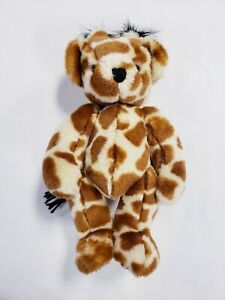 Vintage Giraffe Bearanimal Vermont Teddy Bear Company Jointed Plush Stuffed VTBC