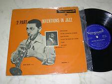 "10"" RUBY BRAFF AND ELLIS LARKINS Two-Part Inventions In Jazz 50s VANGUARD LP"