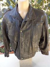 TANNERY WEST XL Sheep Skin Leather Jacket Brown