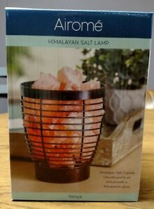 Natural Himalayan Salt Therapeutic Electric Lamp Complete Set - FREE SHIPPING!