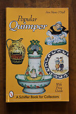 Popular Quimper by Ann Marie O'Neill 2000 Paperback makers marks pricing guide