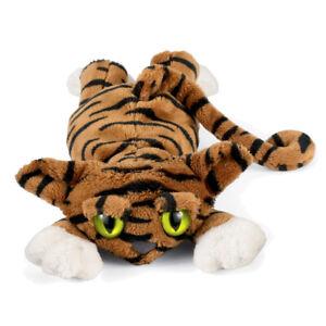 NEW PLUSH SOFT TOY Manhattan 121380 Todd the Tiger Lanky Cat 30cm Green Eyes