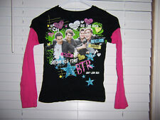 Nickelodeon Big Time Rush Shirt Girl's Size L (10-12) BTR Dream Don't Look Back