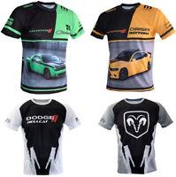 DODGE T-shirt Charger Daytona Hellcat Hemi Challenger Demon SRT RAM Paddock