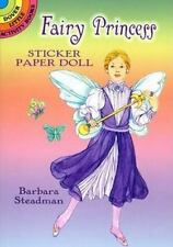 FAIRY PRINCESS STICKER PAPER DOLL - NEW PAPERBACK BOOK