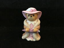 Vintage Lucy & Me Girl Bear Dressed Up In Moms Clothes Enesco Lucy Rigg 1986