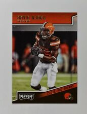 2018 Panini Playoff Base #48 David Njoku - Cleveland Browns