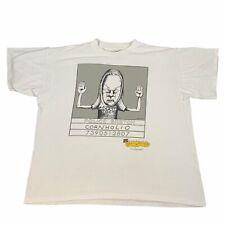 "Vintage Beavis And Butthead ""Cornholio"" T-Shirt MTV Daria Mike Judge"