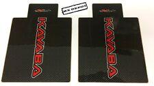 KAYABA CARBON / RED FORK DECALS CR125 CR250 RM125 RM250 YZ125 YZ250 KX125 KX250