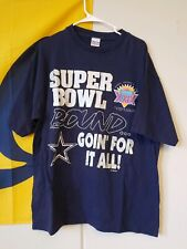 Vintage 1995 Dallas Cowboys Super Bowl T-Shirt Size Xlarge Single Stitch