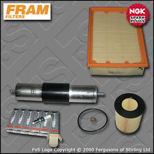 SERVICE KIT BMW 5 SERIES 528I E39 FRAM OIL AIR FUEL FILTER NGK PLUGS (1995-2000)