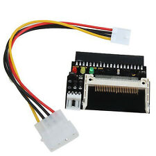 3 LEDS Compact Flash CF SSD To 3.5 Inch ATA IDE Adapter SY Y3G6 H0T0 B0A1