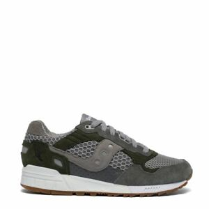 Saucony Shadow 5000 Vintage Trainers Grey / Green - NEW!