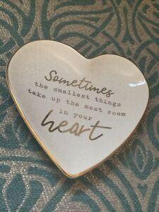 Next Heart Slogan Trinket Dish Ring Holder Sentiment